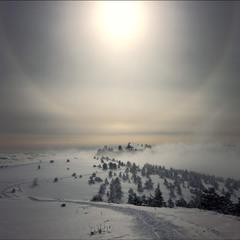 Знойное солнце зимы.