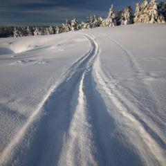 По дорогам зимы