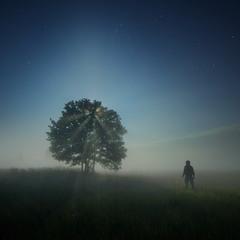 Восход луны встречая