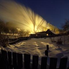 морозными вечерами