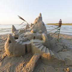 Піщаний замок на о.Світязь