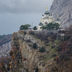 Церковь возле Фороса