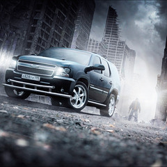 Chevrolet Tahoe (GMT900) Destroy The City