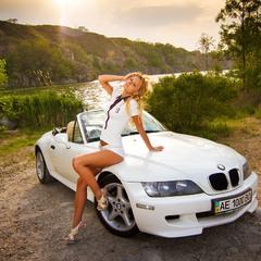 Фотосессия на закате — BMW Z3 & Lilu