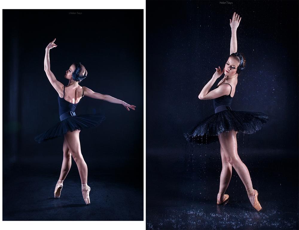 студийная фотосессия балерины система вошла