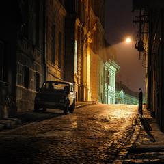 Ночь.Улица.Фонарь