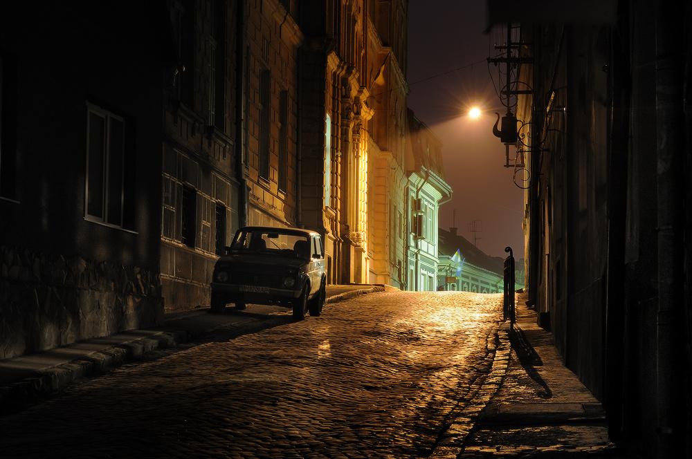Картинки, картинка с фонарем старый город