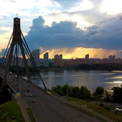 Київ, Червень, вечір