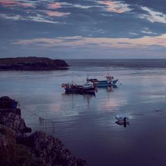 Рибальський пейзаж
