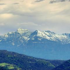 Деревенька в Альпах