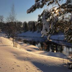 Зимние сказки....