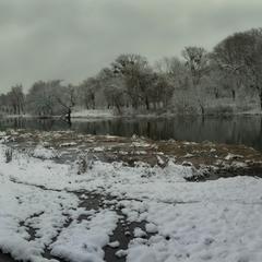 Про то,как из серого неба, белый снег выпал...