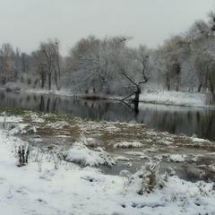 Про речку и зиму...