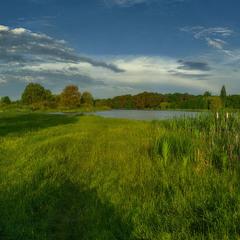 Про утро,у озера...
