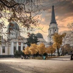 Осеннее небо Соборки.