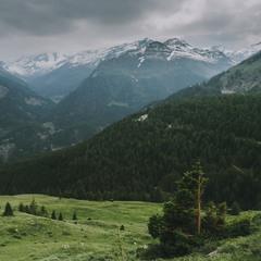Минало альпійське літо