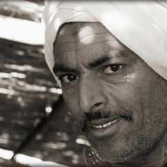 Портрет бедуина.