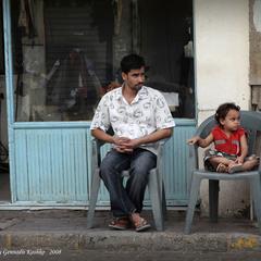 Отец и дочь. Нургада.