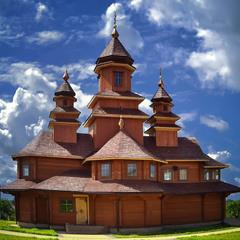 Дерев'яний храм у Дубно