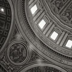 Фрагмент із Базиліки св.Петра у Римі