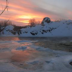 В один прекрасний зимній ранок.