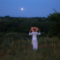 Розмова з місяцем.
