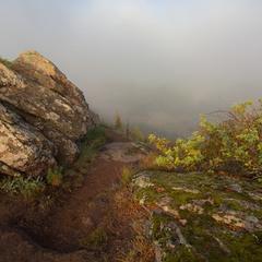 Тумана далечінь.