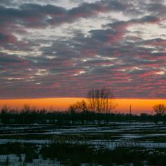 Зимовий вечір в грудні