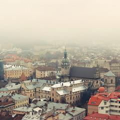 Львів... Осінь... Туман... (version2)