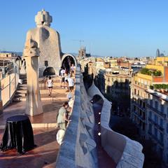 Самая шикарная крыша Барселоны...