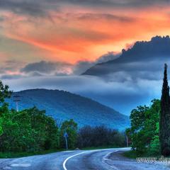 Дорога на Алушту