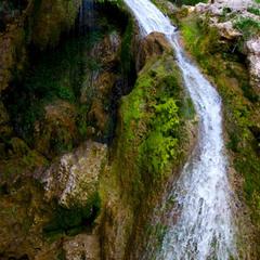Крымский водопад.
