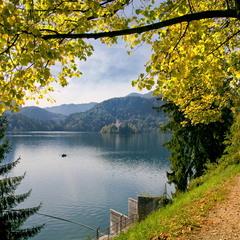 озеро Блэд