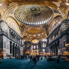 Айя София (Собор Святой Софии) в Стамбуле.