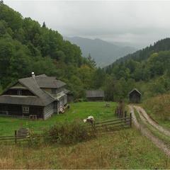 Звичайний Карпатский пейзаж