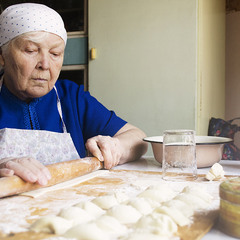 бабушкины варенички