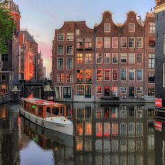 Амстердамская открытка