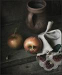 Яблочки..