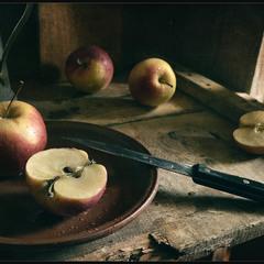 Про яблочки..