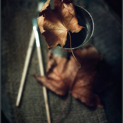 Последний лист октября..