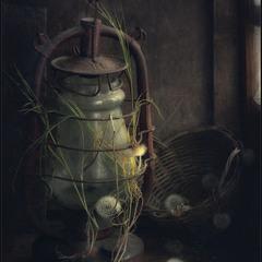Старая лампа..