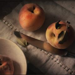про персики..
