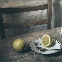 Half a lemon..