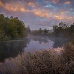 Облака над рекой Псел