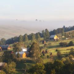 Ранкові карпатські села