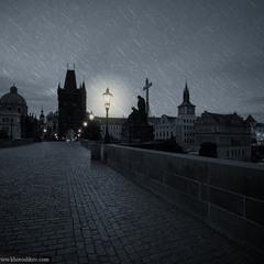 Полночь в Праге