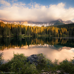 Озера Доломитовых Альп