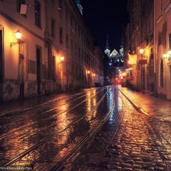 Ночной Львов