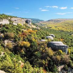 Долина древних останцев