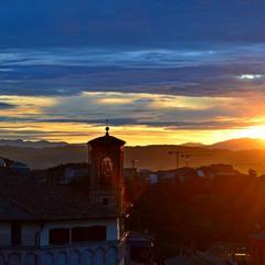 Рассвет в Перудже
